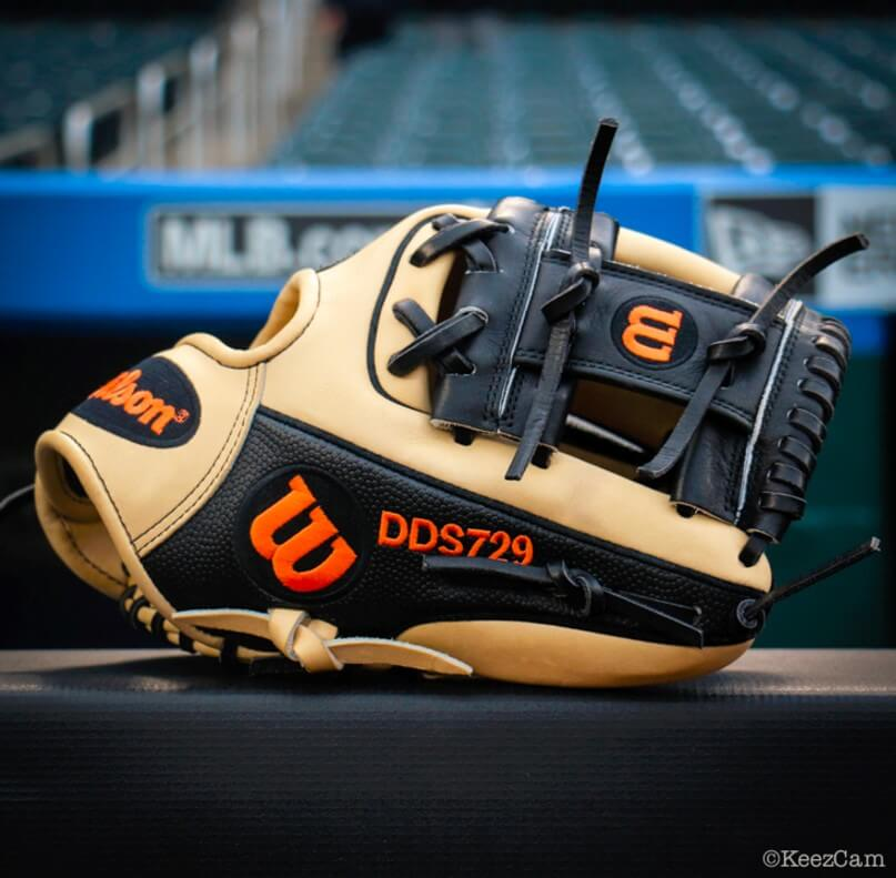 Dee Gordon Wilson A2000 Glove 2017