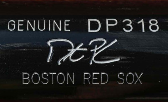 Dustin Pedroia's Louisville Slugger DP318 Maple