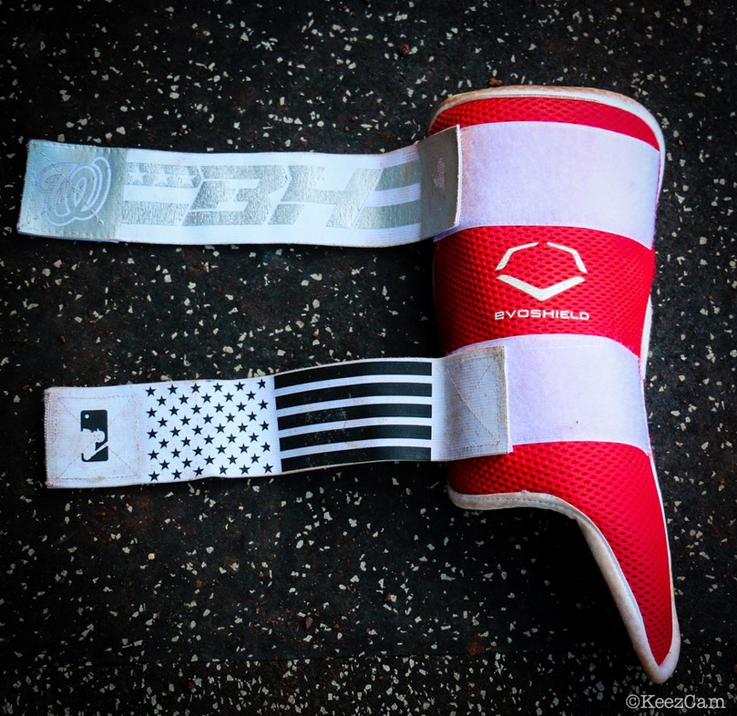 What Pros Wear Bryce Harpers Evoshield Leg Guard What Pros Wear