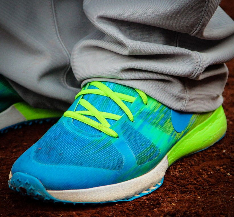 6d5f2003e1b What Pros Wear Starlin Castro s Nike Zoom Speed TR Trainers What ...