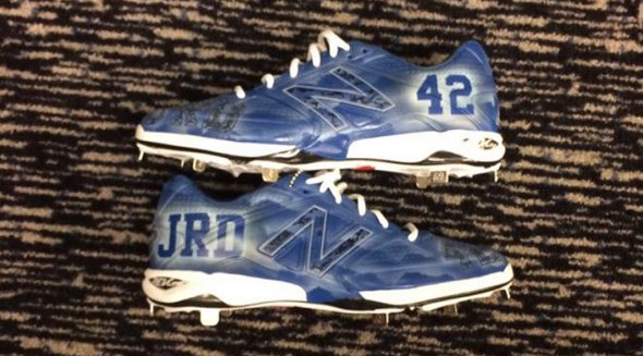 what pros wear jackie robinson day dustin pedroia and