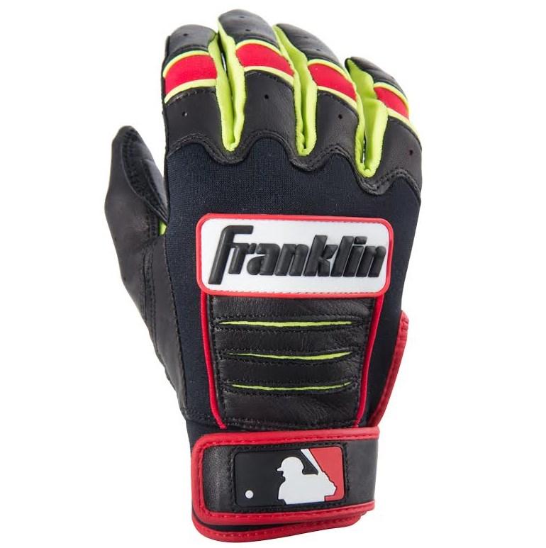 Dustin Pedroia Franklin Cfx Pro Batting Gloves Dj Lemahieu Glove Pros Wear
