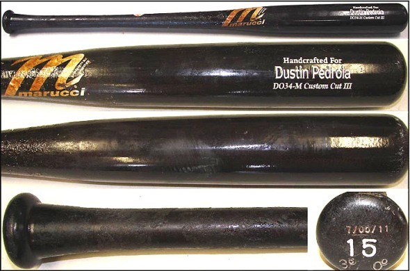Dustin Pedroia's Marucci DO34 Maple