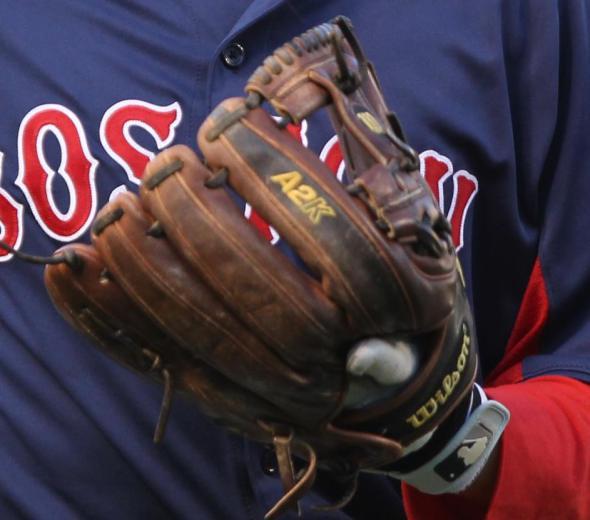 What Pros Wear Dustin Pedroia's Wilson A2K DP15 Glove What ...