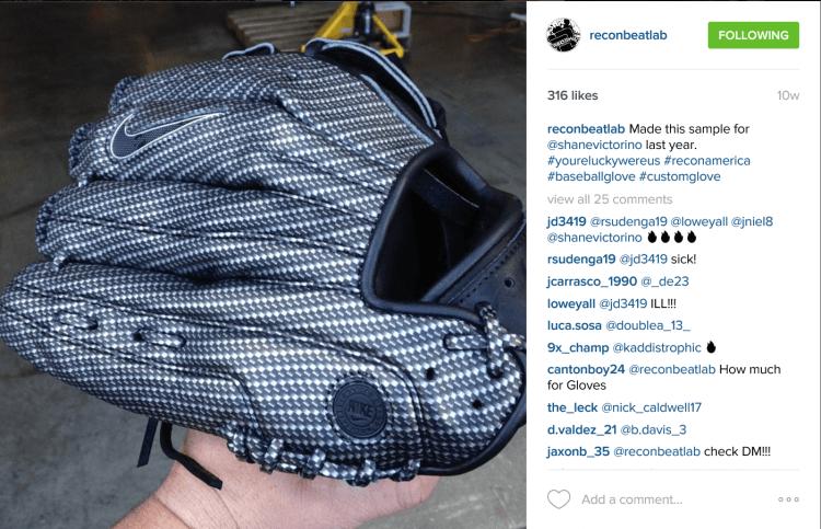Shane Victorino Glove by ReconBeatLab
