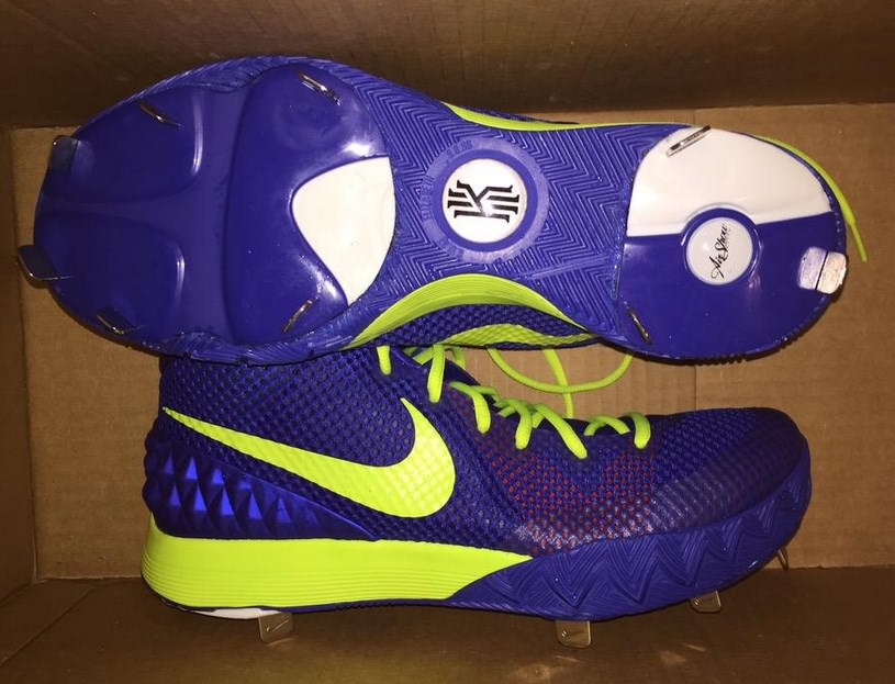 What Pros Wear Russell Martin s Kyrie 1 (by Custom Cleats Inc) What ... 122eda180