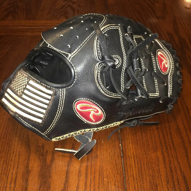 @MGTrey1's Rawlings Glove (Army)