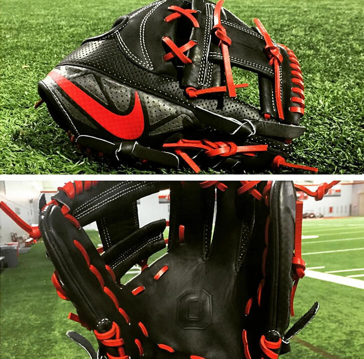 @lgdavis2's Nike MVP Select Glove (Ohio State)