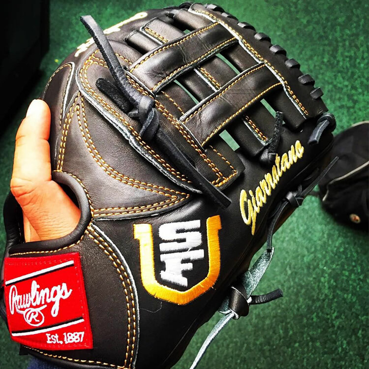 @ngiarratano6's Rawlings Glove (U. of San Francisco)