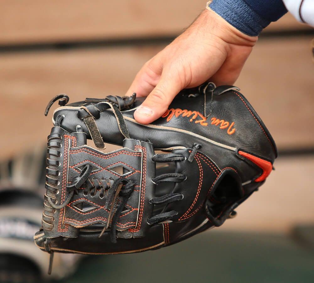 Ian Kinsler's Nike Glove