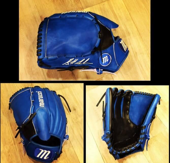Brett Anderson's Marucci Glove
