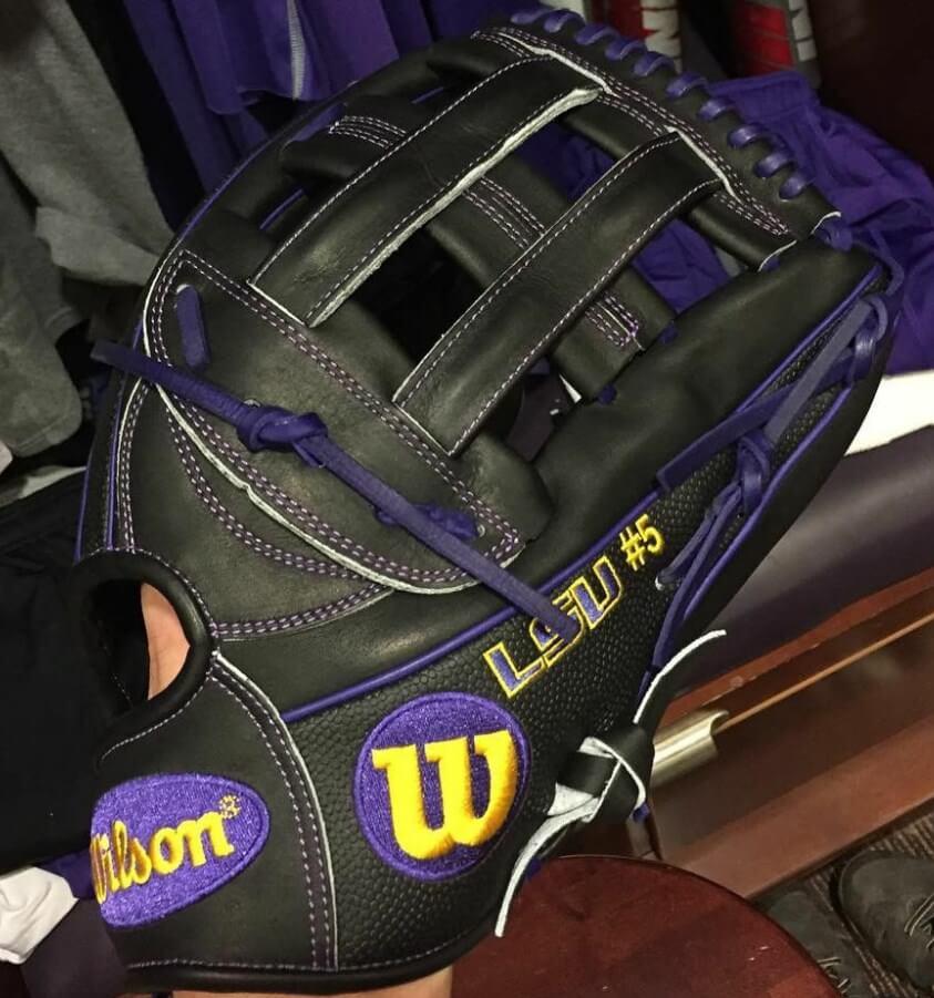 Cody Ducote's LSU Wilson 1799 Glove