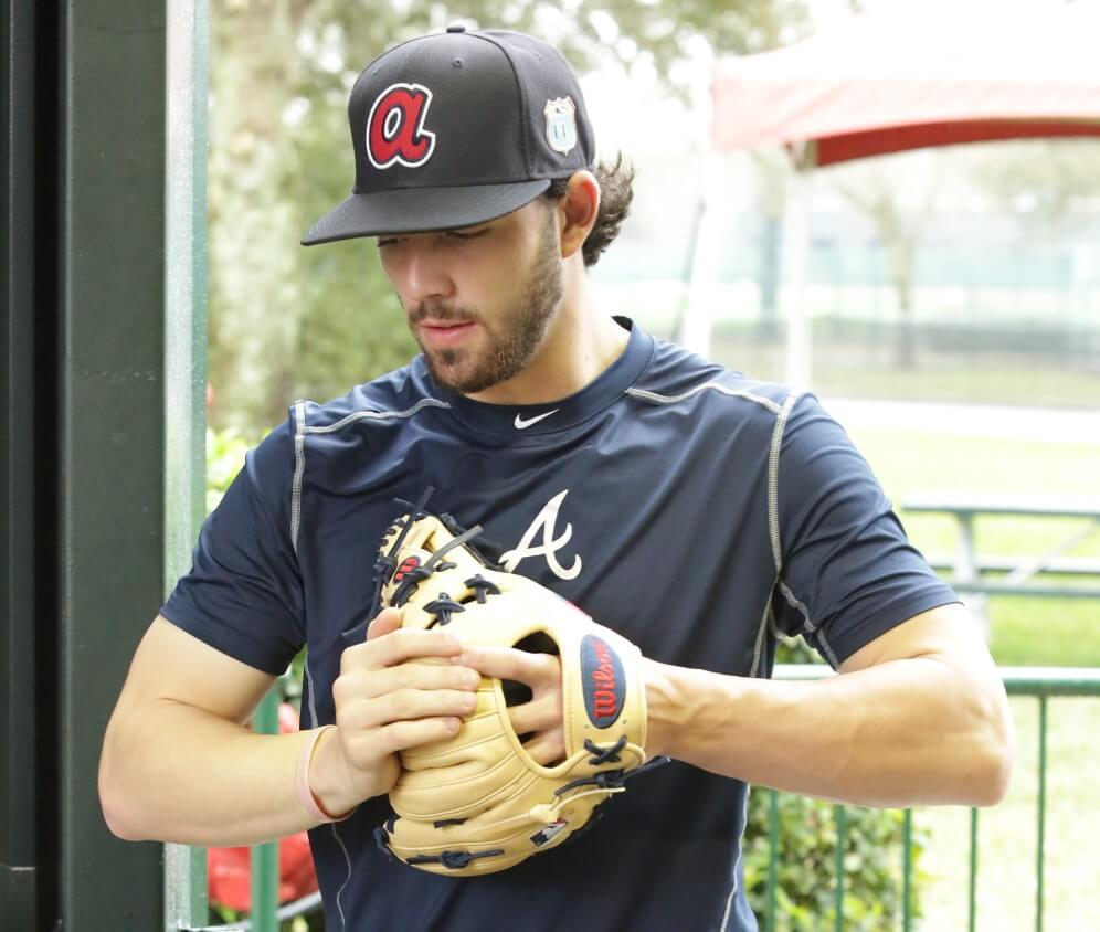 Dansby Swanson's Wilson A2000 Glove