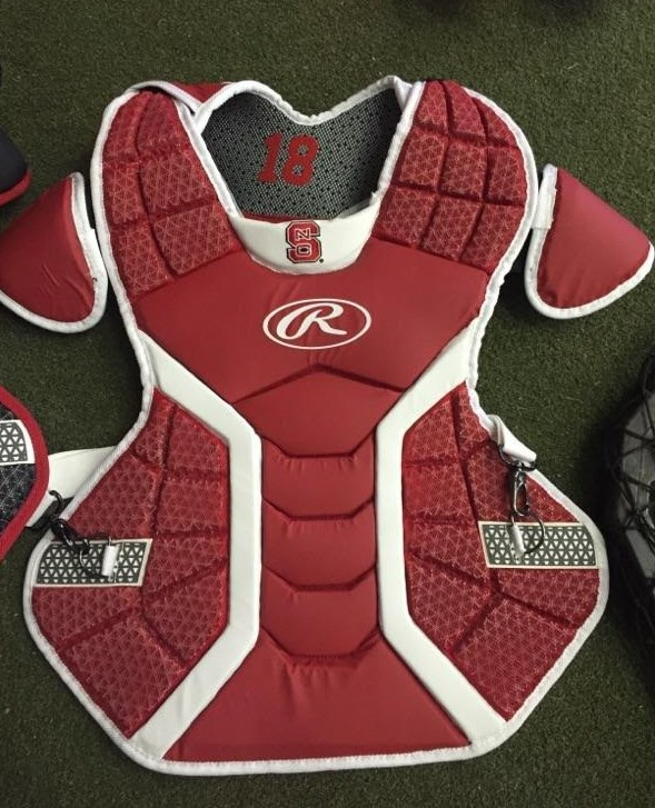 NC State Rawlings Chest Protector