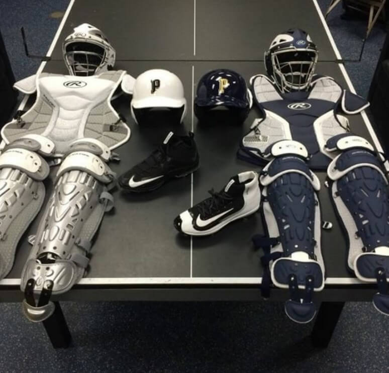 Penn State Catcher's Gear and Cleats