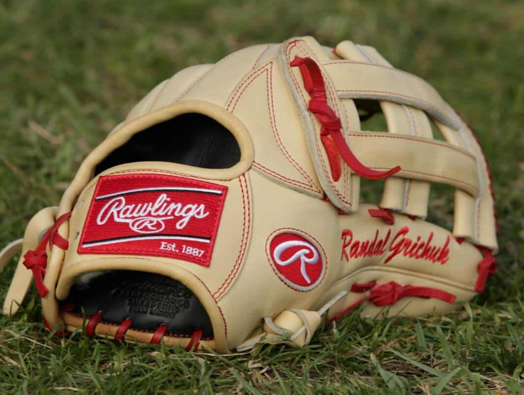 Randal Grichuk's Rawlings Pro Preferred PROS303-6BR