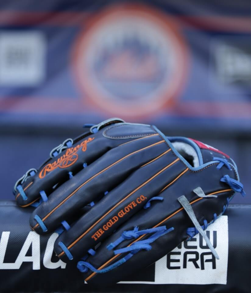 Curtis Granderson Rawlings Glove 5