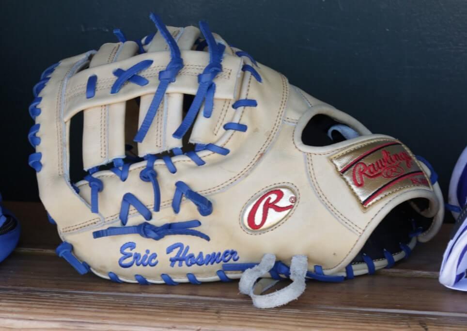 Eric Hosmer Rawlings Glove