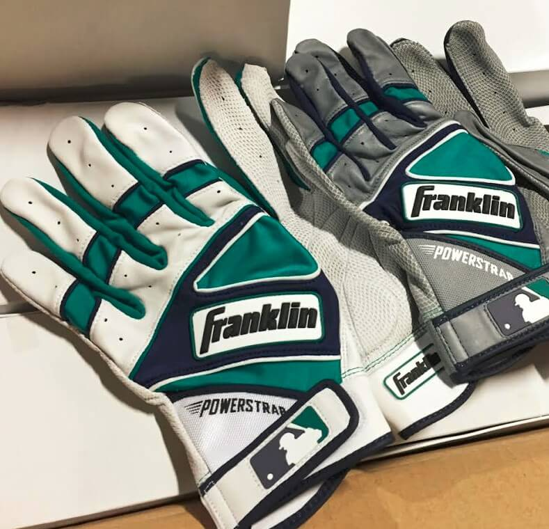 Leonys Martin Franklin Powerstrap Batting Gloves