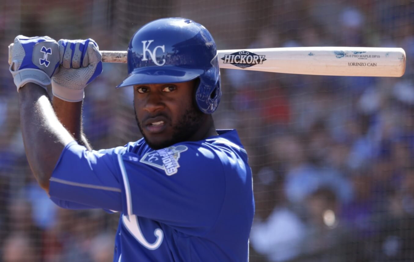 Lorenzo Cain Old Hickory DP15 Maple Bat 2