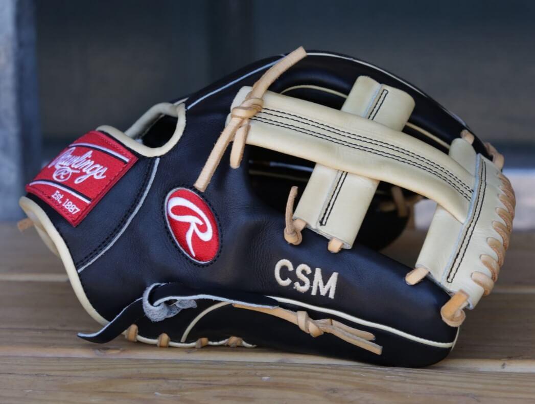 Mike Moustakas Rawlings Glove