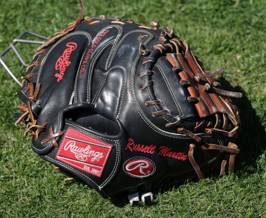 Russell Martin Rawlings Pro Preferred Glove 2