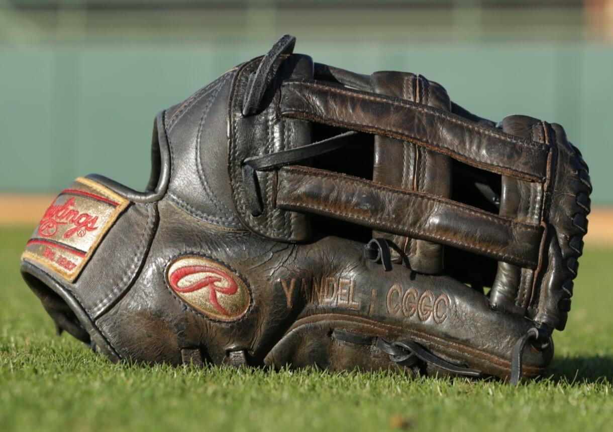Carlos Gomez Rawlings Heart of the Hide PRO303-6JN Glove 3