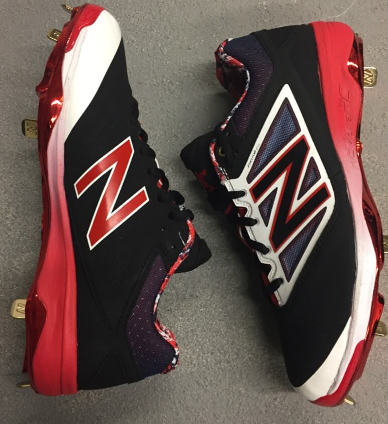 Erick Aybar New Balance 4040v3 Cleats 2