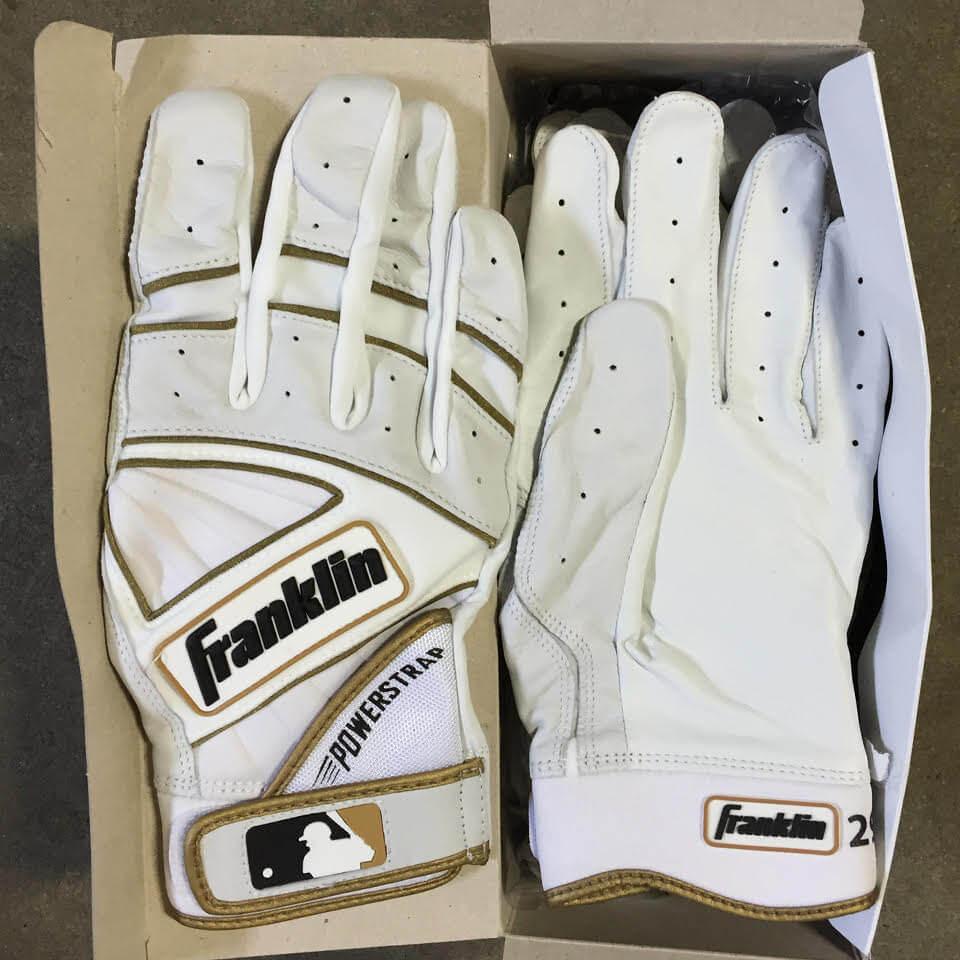 Francisco Cervelli Franklin Batting Gloves