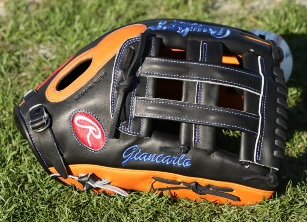 Giancarlo Stanton Rawlings Heart of the Hide PROS27HFB Glove 2