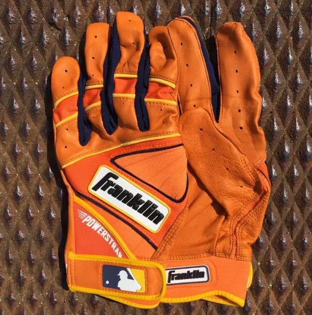 Nike Batting Gloves Orange: What Pros Wear Jose Altuve's Franklin Powerstrap Batting