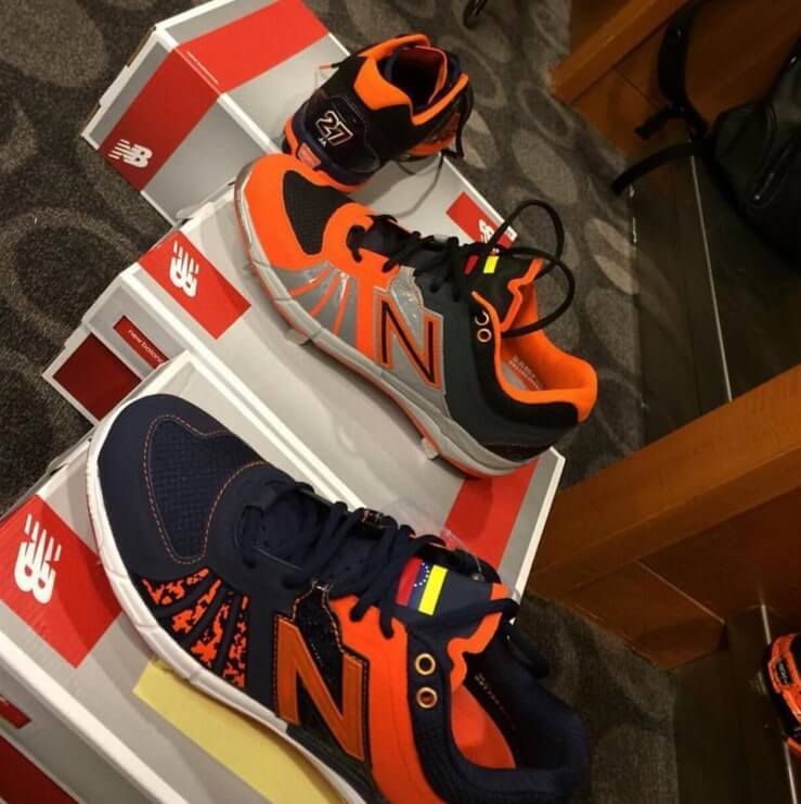 Jose Altuve New Balance 3000v2 Cleats (1)