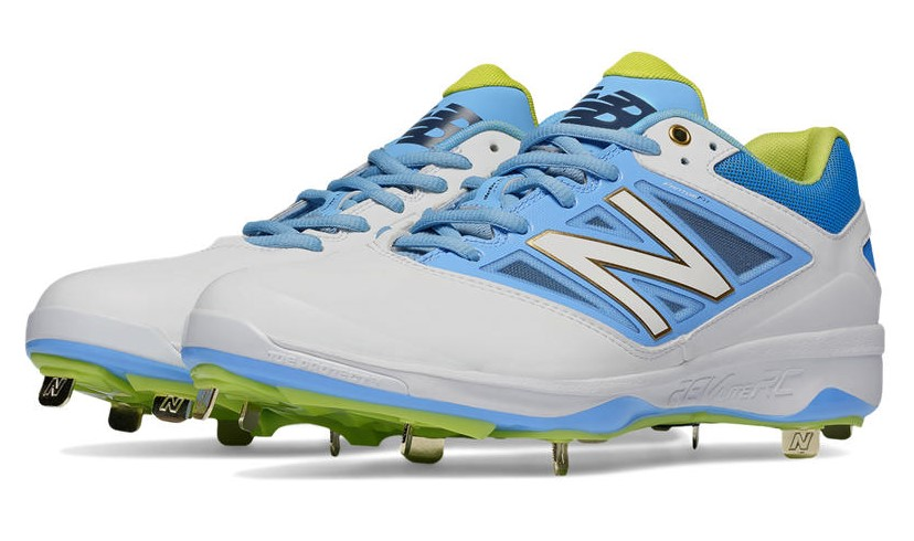 columbia blue new balance baseball cleats