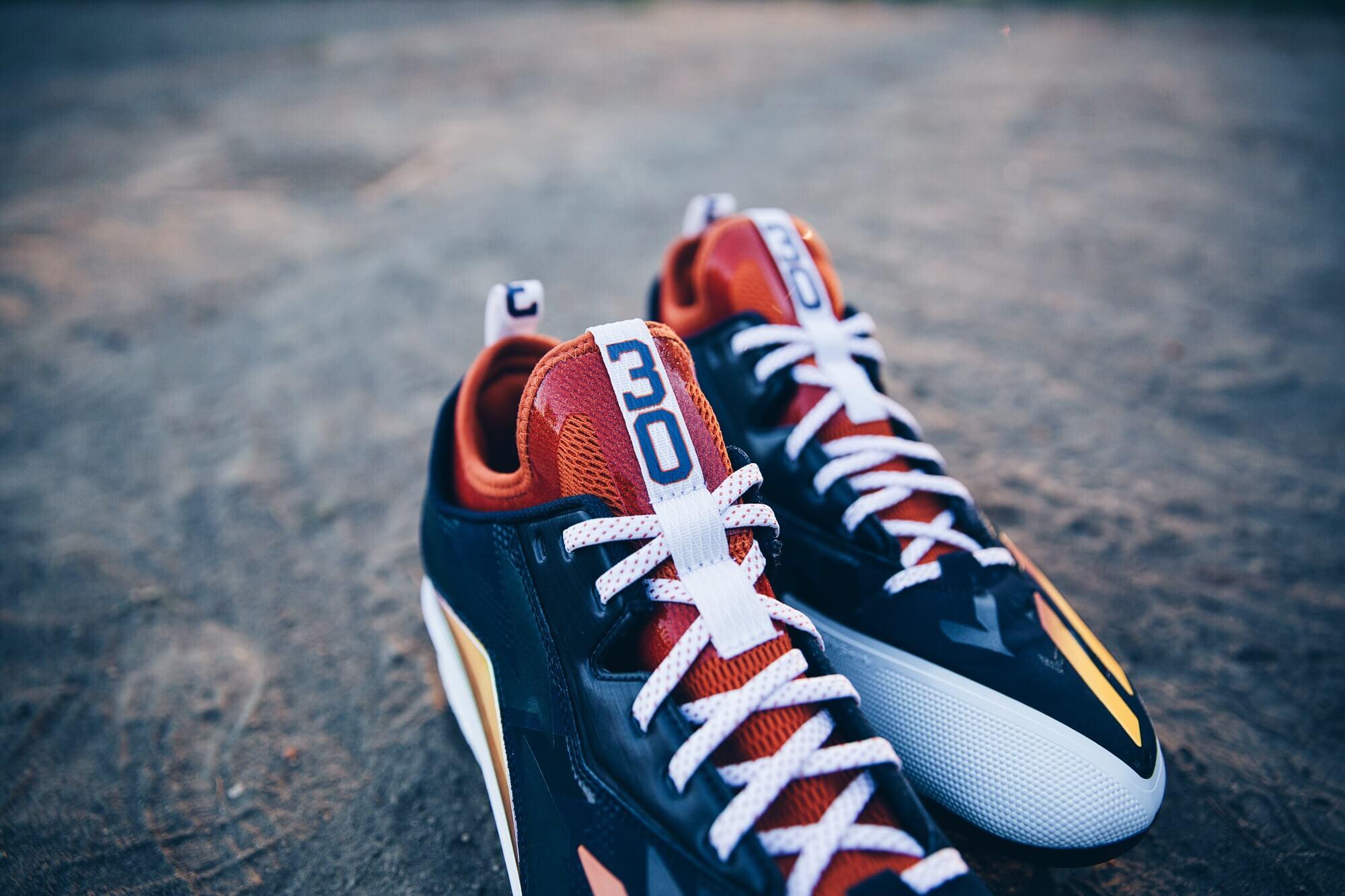 Carlos Gomez adidas Cleats 2