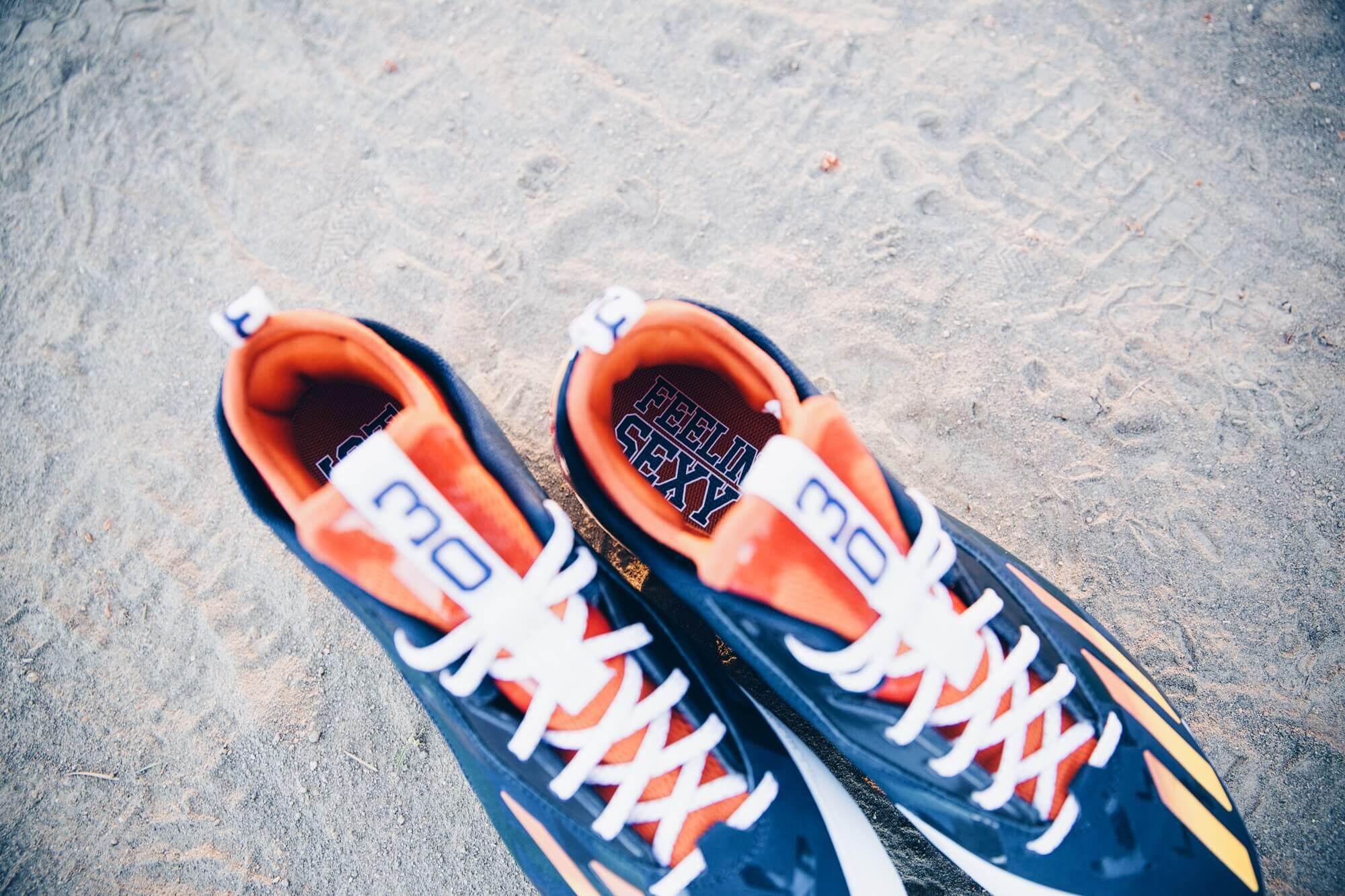 Carlos Gomez adidas Cleats 3