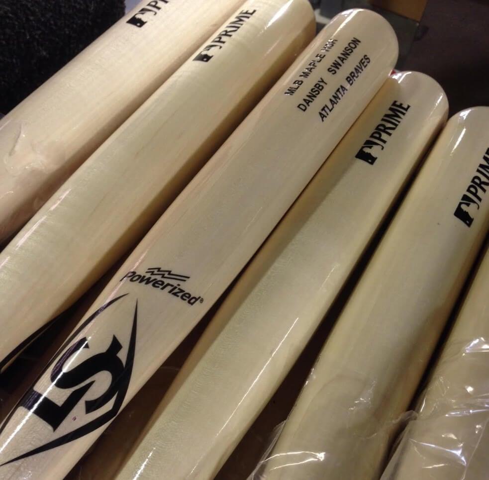 Dansby Swanson Louisville Slugger Prime Bats
