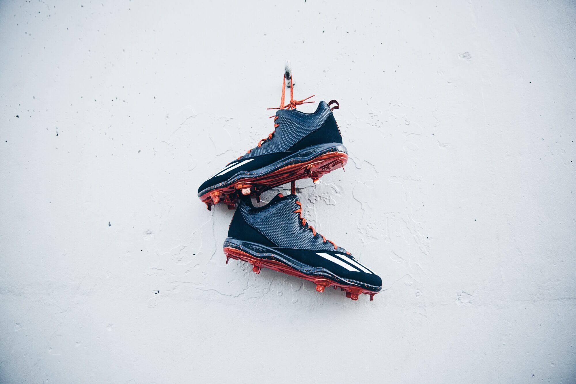 Justin Upton adidas Cleats (2)