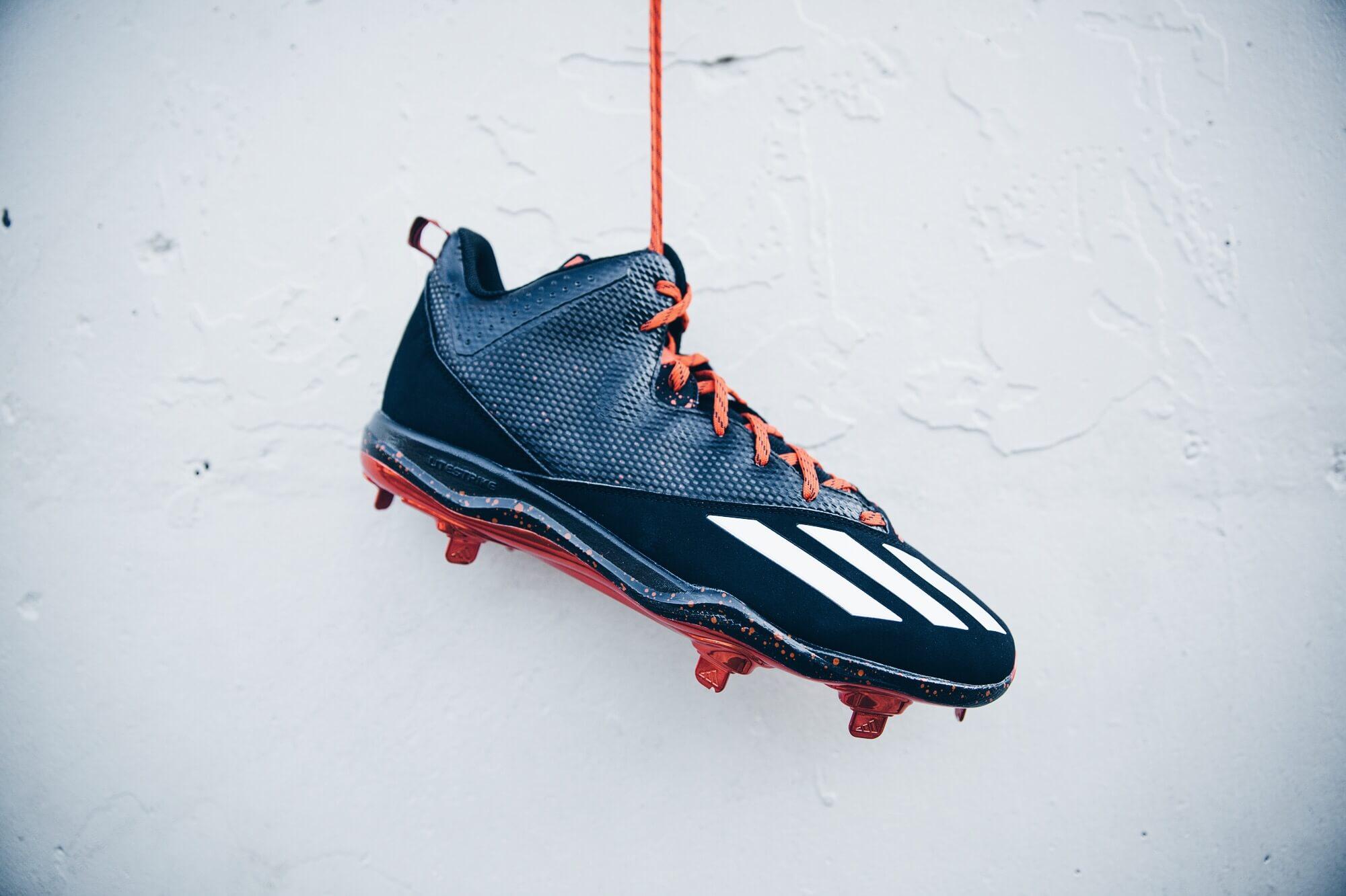 Justin Upton adidas Cleats 4