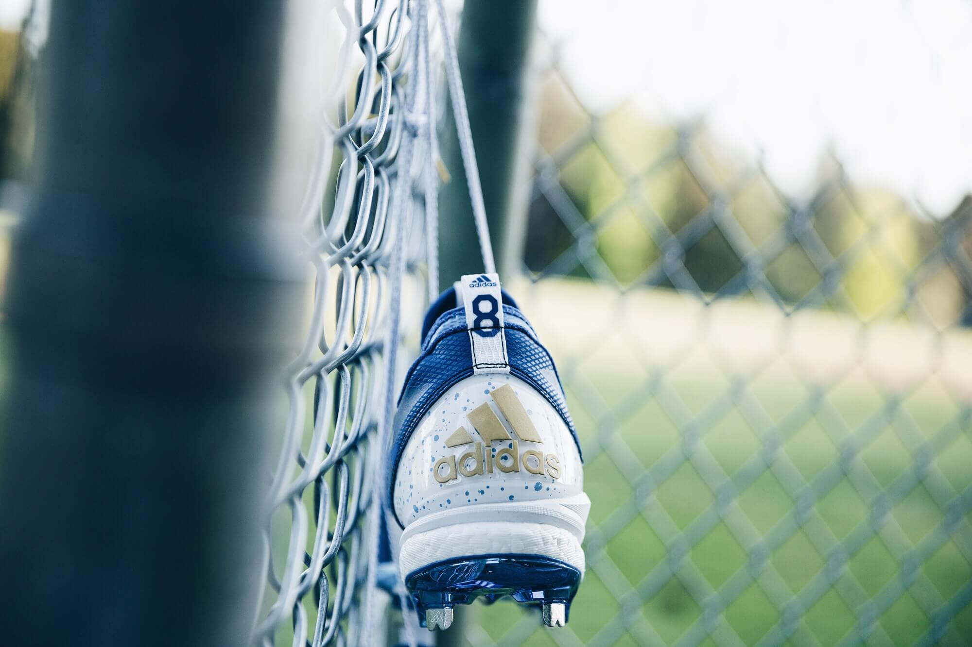Mike Moustakas adidas Cleats 2
