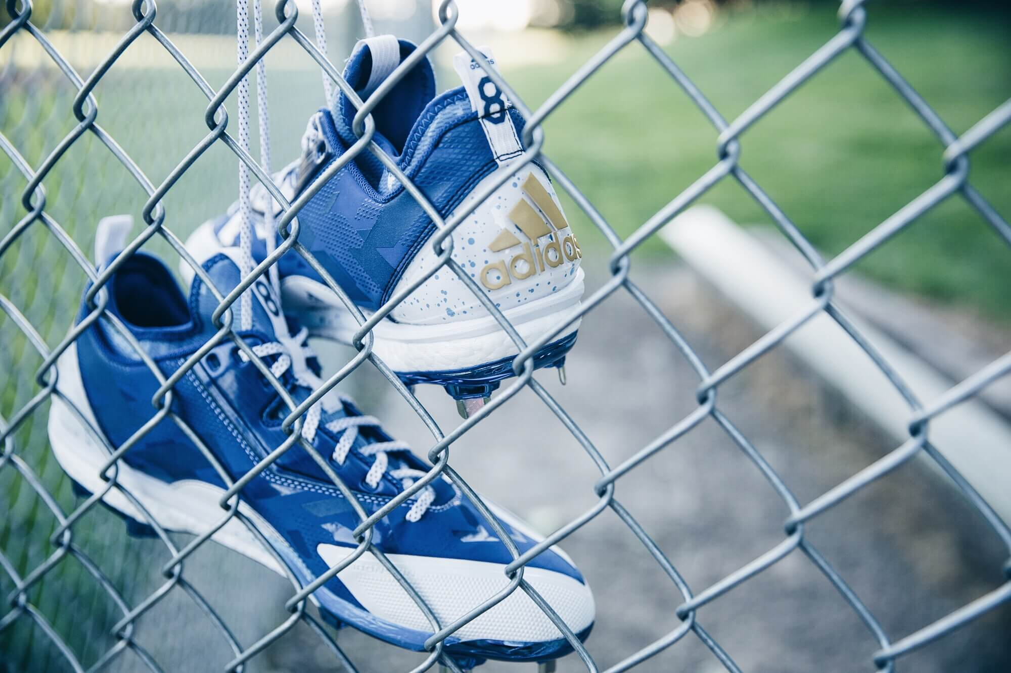 Mike Moustakas adidas Cleats 3