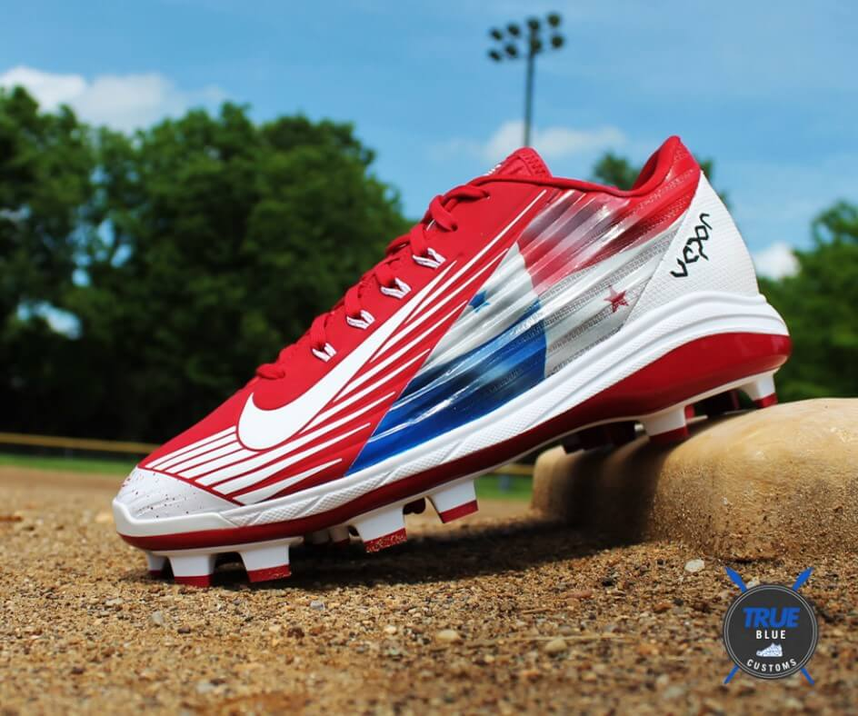 Carlos Ruiz True Blue Customs Cleats