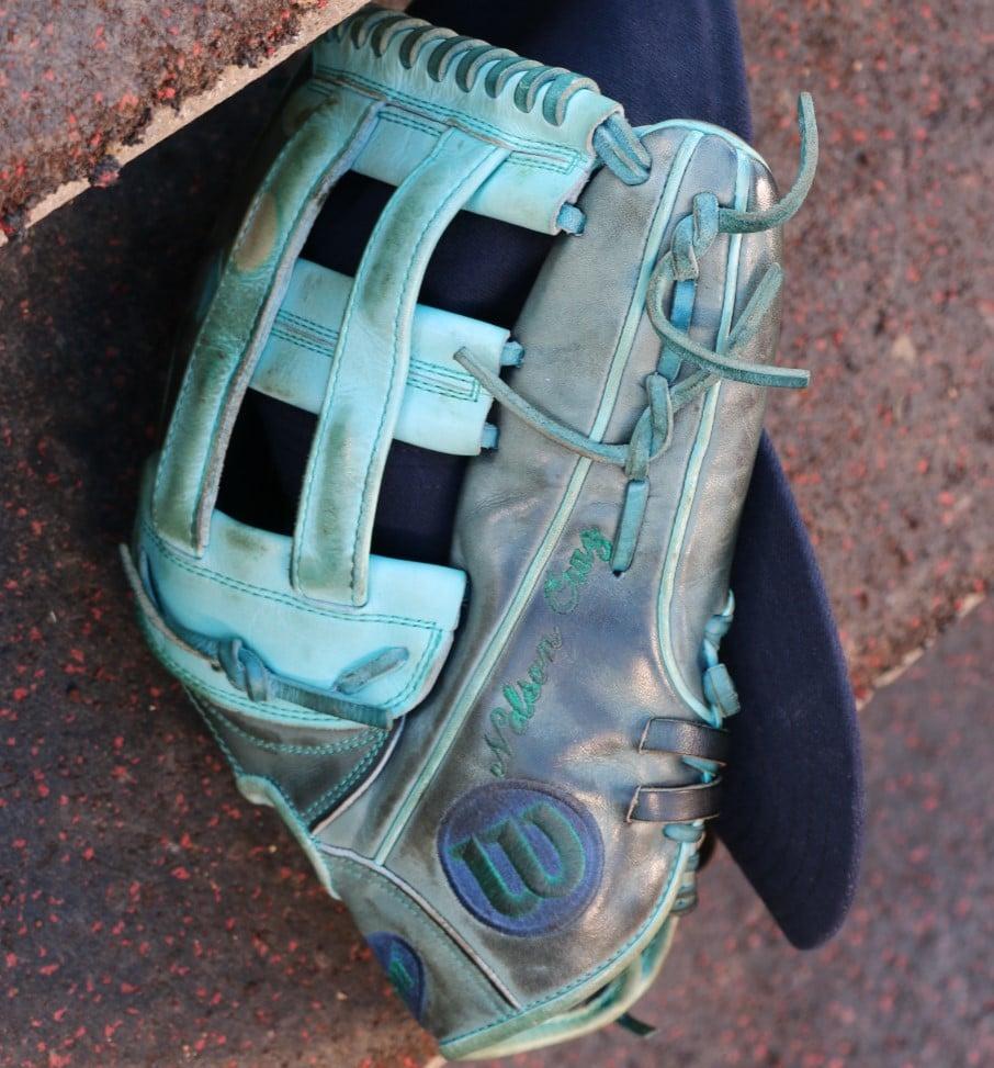 What Pros Wear Nelson Cruz Wilson A2000 1799 Glove What