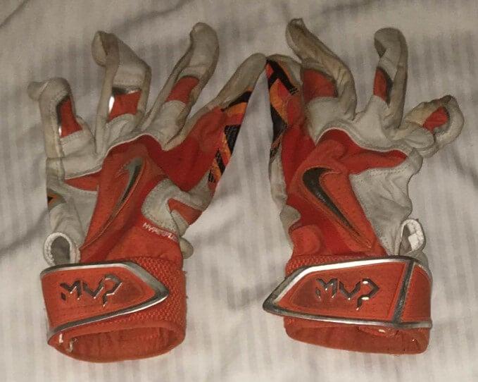 Oklahoma State Batting Gloves 3