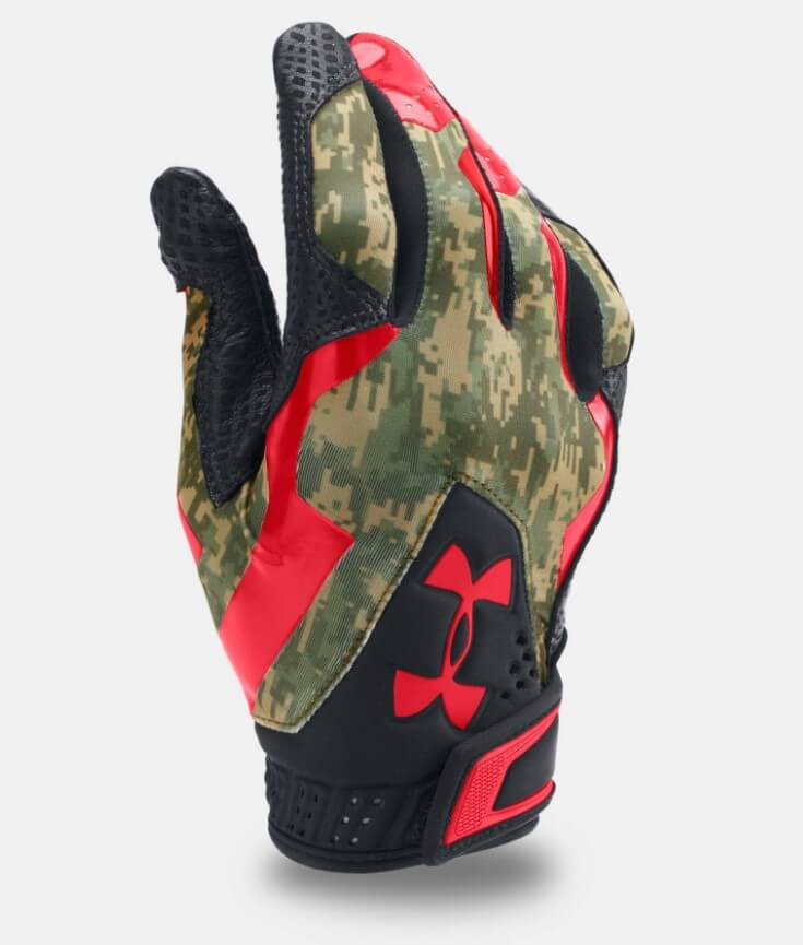 UA Memorial Day batting gloves