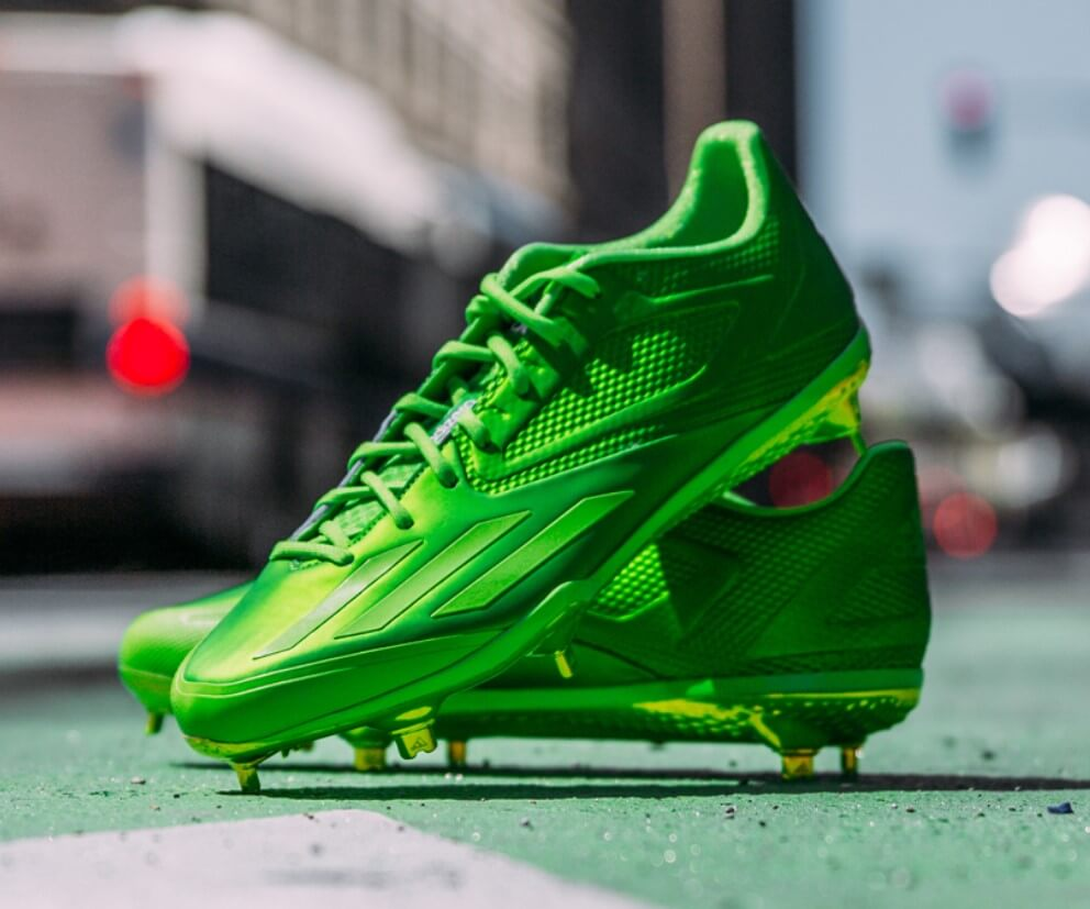 slime adidas dipped cleats