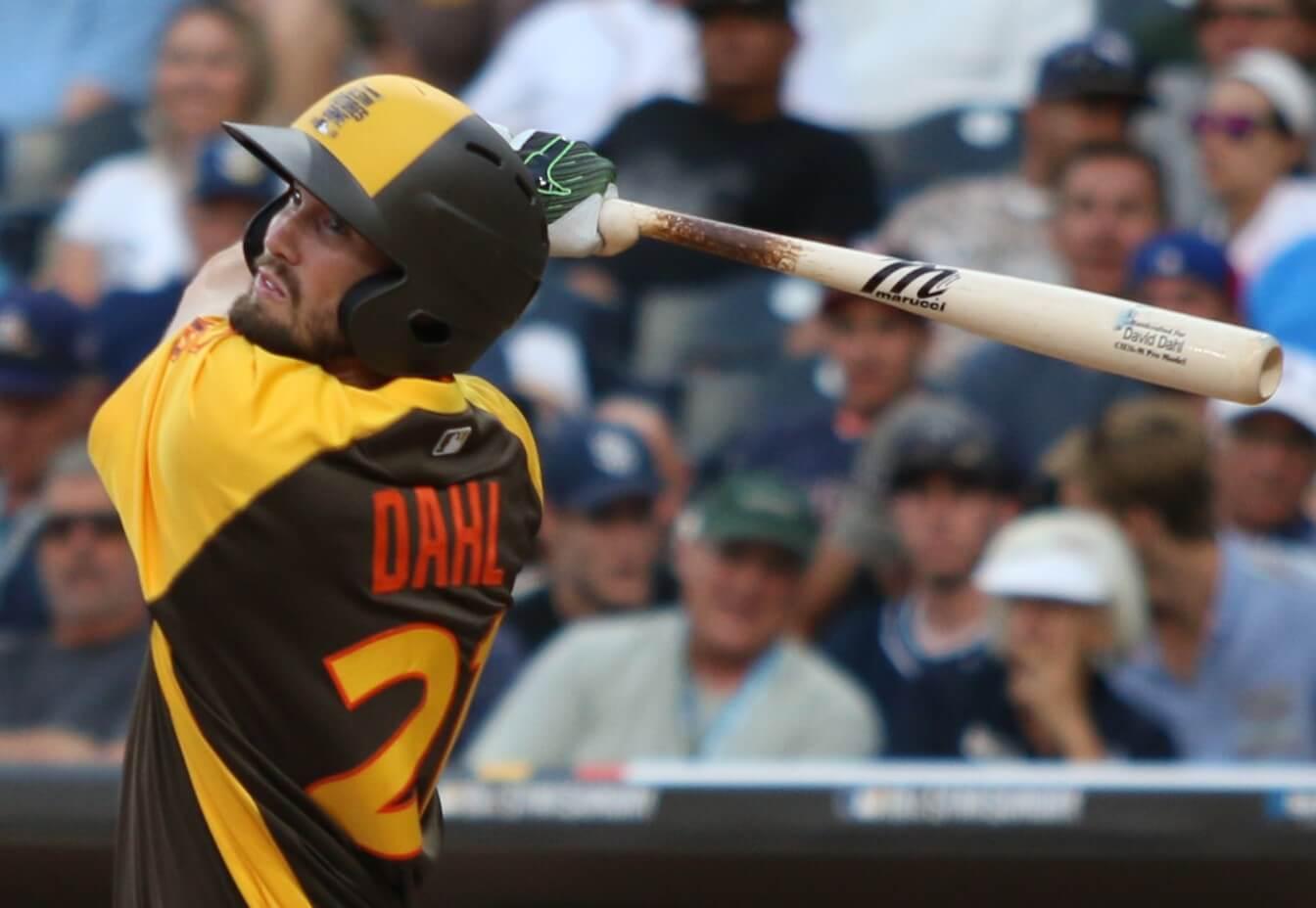 David Dahl Marucci CU26 Bat