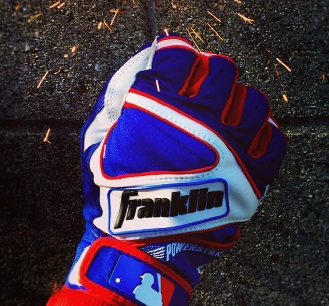 Franklin 4th of July Powerstrap Batting Glove