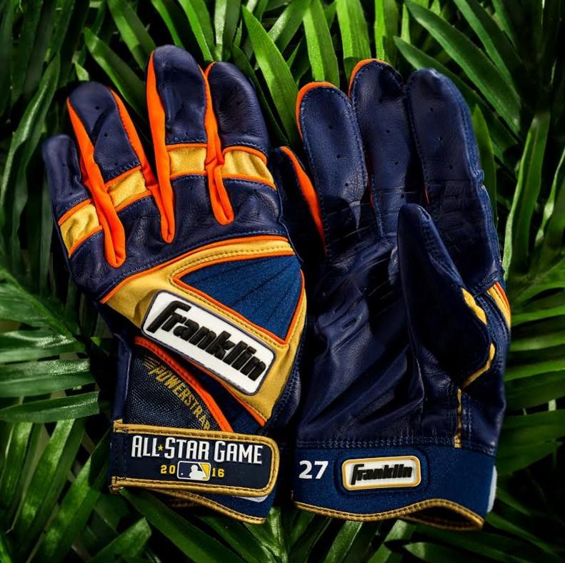 Jose Altuve Franklin Batting Gloves 2