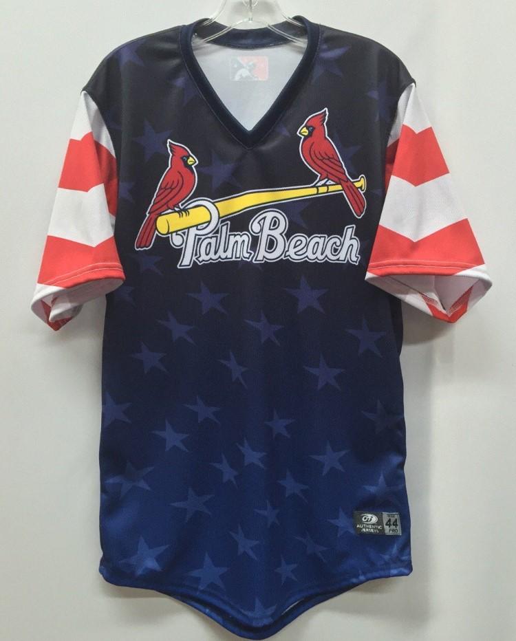 Palm Beach Cardinals Jerseys