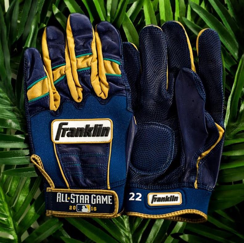 Robinson Cano Franklin Batting Gloves